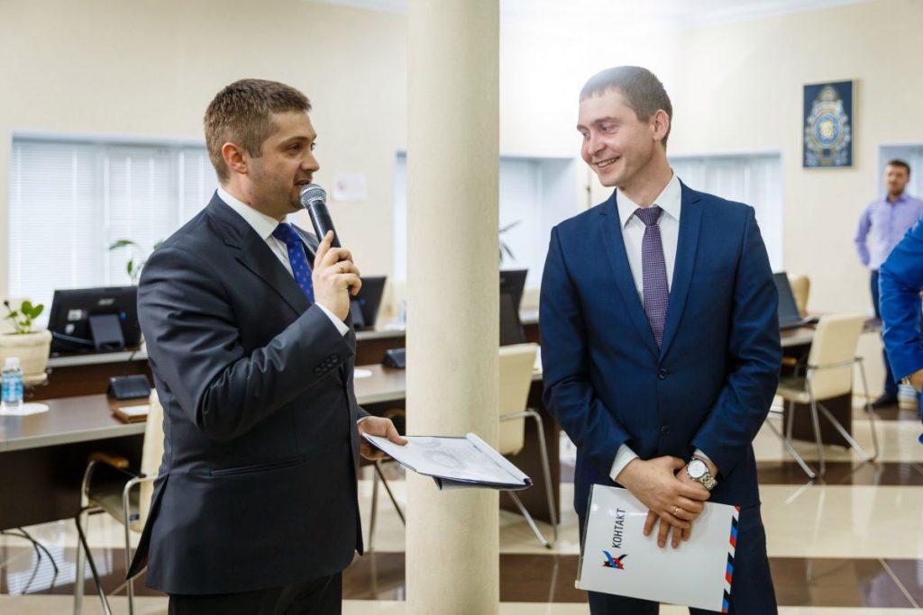 Награждение сотрудников СК Контакт